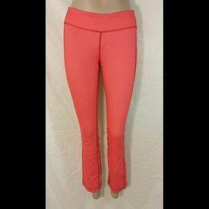 Lululemon PYB Ankle Pants Love Red Slub Denim sz 6
